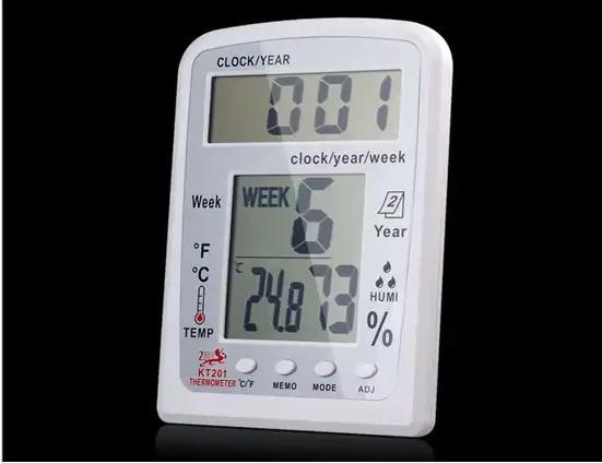 Цифровой многофункциональный термометр, гигрометр