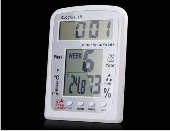 Цифровой многофункциональный термометр, гигрометр, фото 2