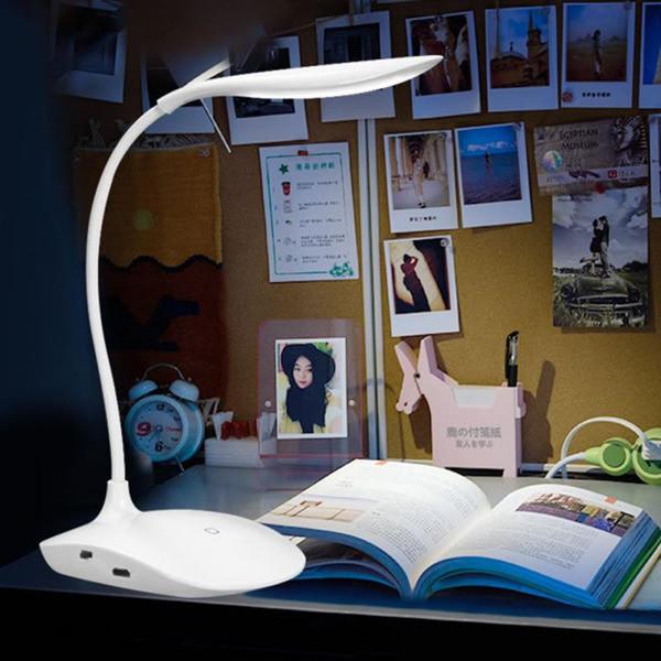 Настольные лампы Гусенек
