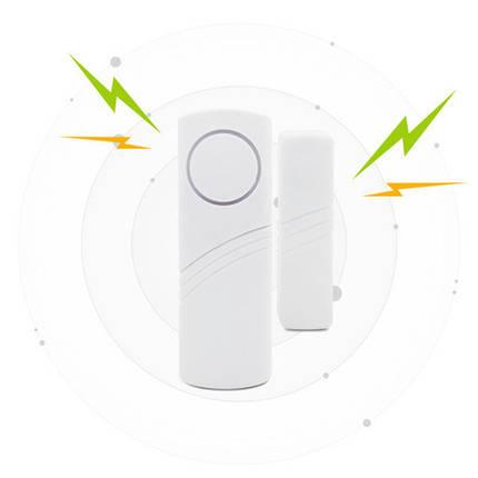 Беспроводной двери окна магнитный контакт датчика для охраны дома, фото 2