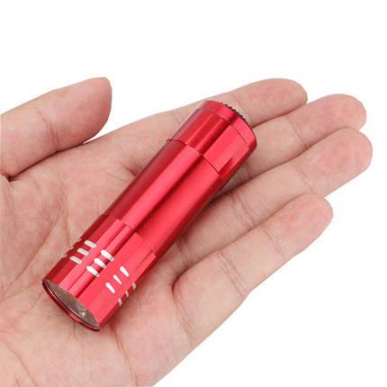 9 светодиодный мини-фонарик, фото 2
