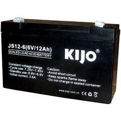 Аккумулятор Kijo JS 6V 12Ah AGM