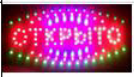 LED Светодиодная вывеска табло открыто 48X25!Хит цена