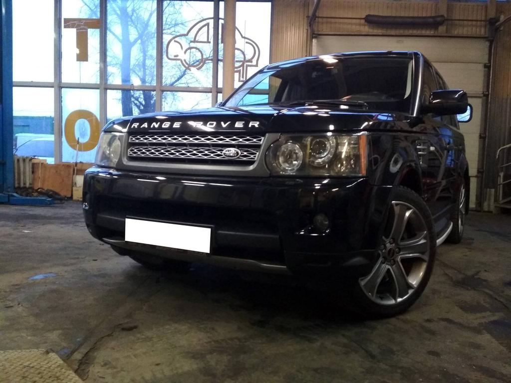 Range Rover Supercharged 5.0 2010г Шумоизоляцыя