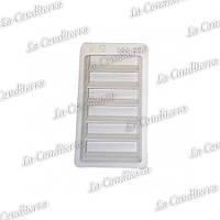 Пластиковая форма для шоколадных плиток MARTELLATO TC003/5 (5 шт.)