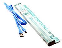 Кабель USB Remax RC-028m (micro-USB) blue .t