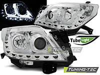 Передние фары тюнинг оптика Toyota Land Cruiser LC Prado 150