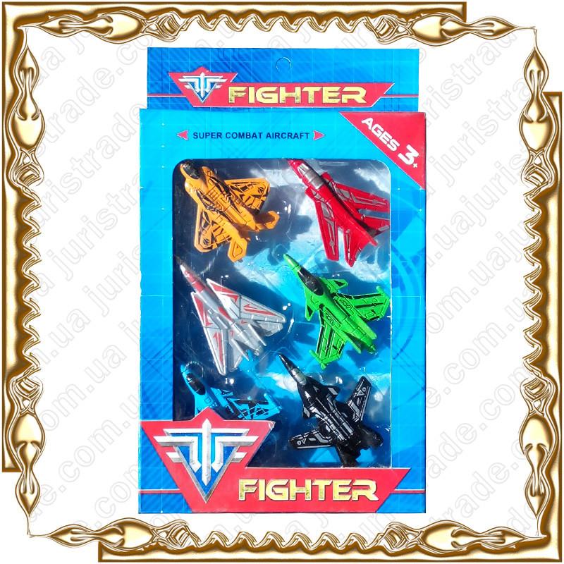 Набор самолетов Fighter 6 шт./уп. №6801-В