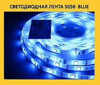 Светодиодная лента 5050  blue!Хит цена