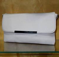 Сумка - клатч №257 белая  24*15 см