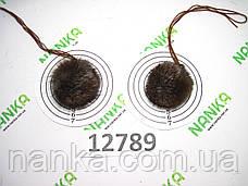 Меховой помпон Чернобурка, Песочный, 4 см, пара 12789, фото 3