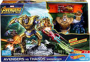 Игровой трек Hot Wheels  Marvel  Мстители против Таноса  FLM81