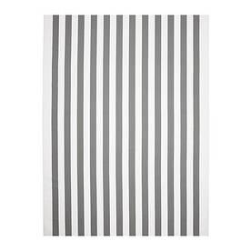 IKEA, SOFIA, Ткань, полосы, ширина, белый / серый (20392931)(203.929.31) СОФИА ИКЕА