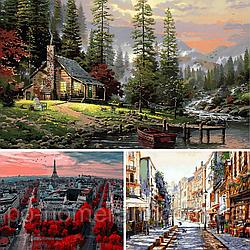 Картины по номерам Babylon Premium — набор из 3 лучших сюжетов