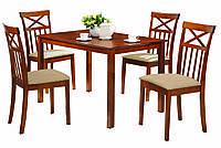 Комплект Ривьера: стол + 4 стула