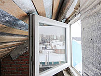 Одностворчатое пластиковое окно с открывание Rehau Brillant  , фото 1