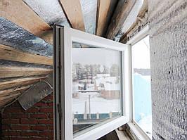 Одностворчатое пластиковое окно с открывание Rehau Brillant