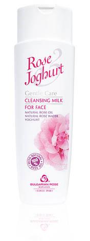 Очищающее молочко для лица Болгарская Роза Rose Joghurt 250 мл, фото 2
