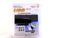 Тройник для прикуривателя с USB