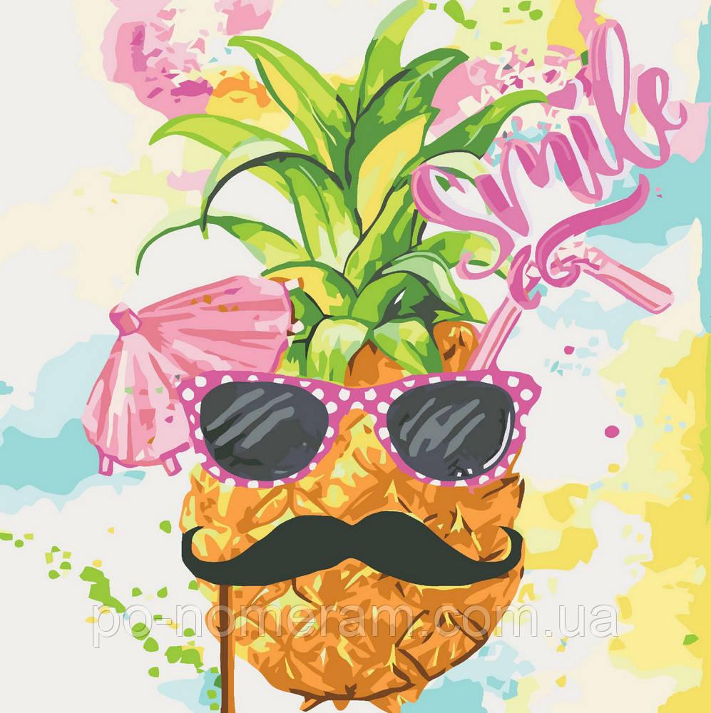 Раскраска для взрослых Тропический коктейль (KHO2936) 40 х ...
