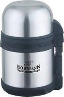 Термос 0,8л с широким горлышком 2в1 ( для еды и для чая ) Bohmann BH 4208