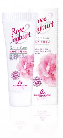 Крем для рук Болгарская Роза Rose Joghurt 75 мл, фото 2