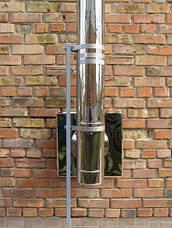 Тройник 90 сэндвич (термо) 0,5 мм н/н AISI 304, фото 3