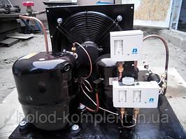 Среднетемпературный холодильный агрегат R404a/R507 , 967 Вт. холод. (220 V)