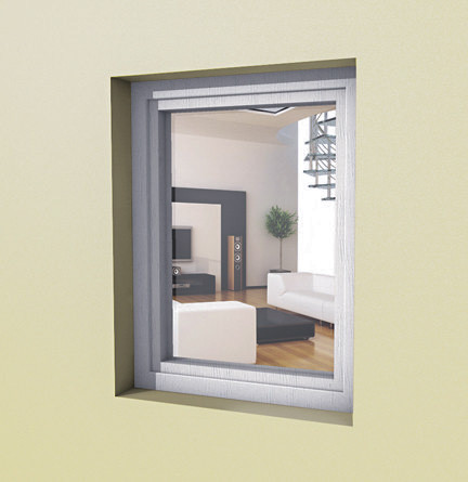 Глухое пластиковое окно Rehau EURO 70