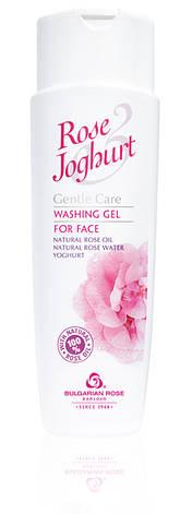 Очищающий гель для умывания Болгарская Роза Rose Joghurt 250 мл, фото 2