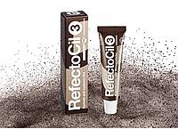 Рефектоцил краска для бровей и ресниц №3, натурально-коричневый, RefectoCil Рефектосил