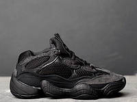 Кросівки Adidas Yeezy 500 Utility Black. Живе фото. (Репліка ААА+), фото 1