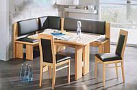 Кухонные уголки с раскладным столом: элегантная функциональность