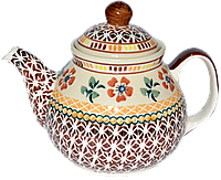 Заварочный керамический чайник 0,75L Curry style, фото 1