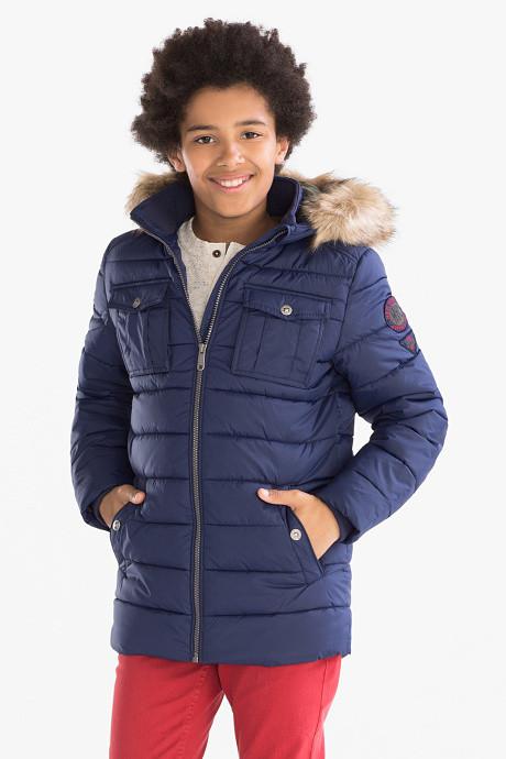 Зимняя куртка для мальчика подростка 11-12 лет C&A Германия Размер 152