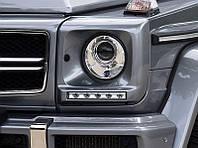 Очки под фары с LED-ходовыми огнями (светлыми), фото 1