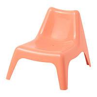IKEA, BUNSO, Детский стул, сад., бледно-оранжевый (30389607)(303.896.07) БУНСО, ИКЕА, ІКЕА, АЙКИА