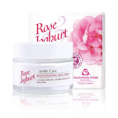 Омолаживающий крем для лица Болгарская Роза Rose Joghurt 50 мл, фото 2