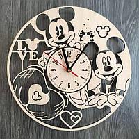 """Детские настенные часы """"Микки Маус"""", фото 1"""