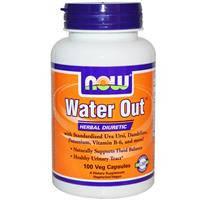 Water Out (Вотер Аут) натуральный диуретик 100 капс  мочегонное  Now Foods USA