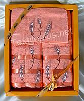 Полотенеца махровые - Febo Smile - 100% хлопок - баня+лицо+салфетка - Турция