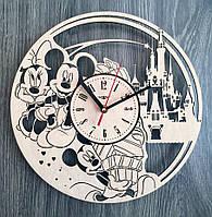 """Детские настенные часы """"Микки и Минни Маус"""", фото 1"""