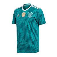 Футбольная форма Сборной Германии с коротким рукавом 2018, выездная