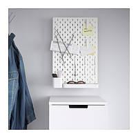 IKEA, SKADIS, Перфорированная доска, белый (39216589)(S392.165.89) СКАДИС, СКАДІС, ИКЕА, ІКЕА, АЙКИА