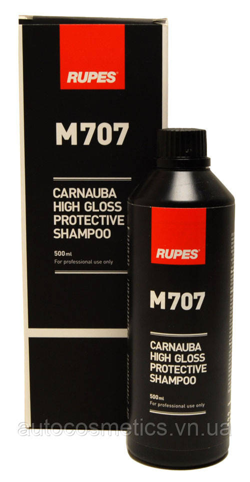 Шампунь з карнауба RUPES M707 Carnuba High Gloss Protective