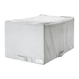 IKEA, STUK, Сумка, белый/серый, 34x51x28 см (40309686)(403.096.86) СТУК ИКЕА