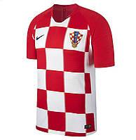Футбольная футболка Сборной Хорватии с коротким рукавом 2018, домашняя