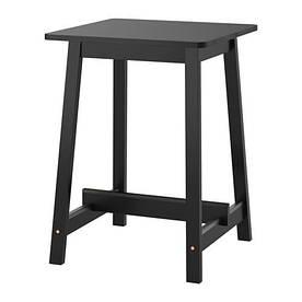 IKEA, NORRAKER, Барный стол, черный, 74x74 см (40339004)(S403.390.04) НОРРАКЕР НОРАКЕР ИКЕА