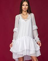 Женское двойное шифоновое платье (Элиса mrb), фото 3