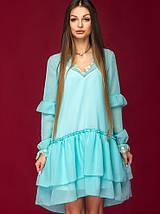Женское двойное шифоновое платье (Элиса mrb), фото 2